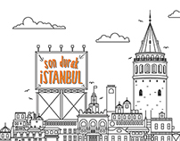 Istanbul poster series