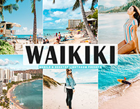 Free Waikiki Mobile & Desktop Lightroom Presets