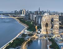 『杭州印』famous landmark in Hangzhou,China
