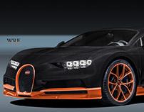 Bugatti Chiron WRE
