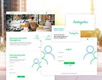 Packagetaxi Brand Identity & Website Design