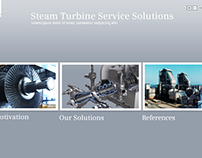 "Siemens - interactive presentation ""Steam Turbine"""