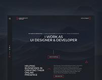 DubaiFreelanceDesigner | Website Redesign V3