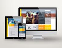 FMG - corporate intranet design