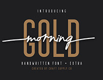 Morning Gold - Handwritten Font (Free Download)