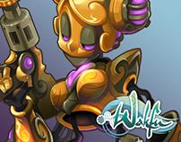 WAKFU MMO - Female Foggernaut
