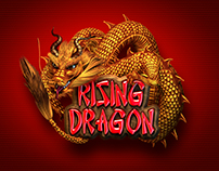 "Slot machine - ""Rising Dragon"""
