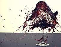 Wine glass demolition