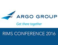ARGO Group: RIMS Conference 2016 Exhibition
