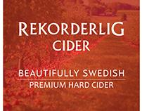 Rekorderlig Cider 18 x 18 Poster