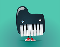 Tiny Piano Monster