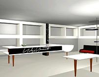 3d visuals sketch concept store JM