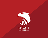 INDONESIA LIGA 1 2021 VISUAL IDENTITY CONCEPT
