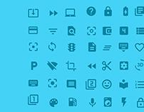 Google icon PSD Design