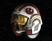 Star Wars Fighter Helmet PS Painting