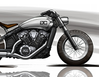 'The Outlaw' Indian Scout – Gasser Customs