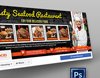 Restaurant Facebook Cover Template