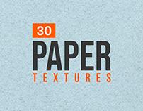 30+ Subtle Paper Textures for Designers