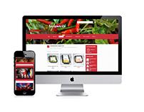 Surisnacks responsive WP webshop