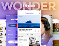WONDER: Free App UI Kit