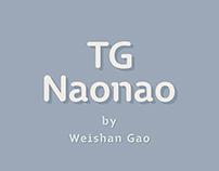 TG Naonao | Font