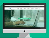 E-Learning Corporate Website