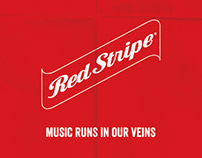 Artworks for Red Stripe Beer