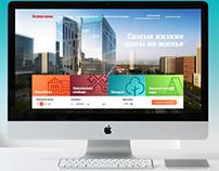 Адаптивный сайт строительной компании Гарант-Жильё
