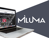 Miluma - Website redesign
