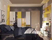Modern Kids Bed Room