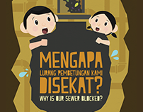 Why is our sewer blocked ? ( Indah Water)