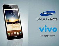 Samsung - Ativação Galaxy Note - ViVo