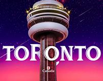 Toronto ~ CN Tower manipulate