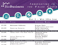 Talk: Keynote, BioBusiness Conference
