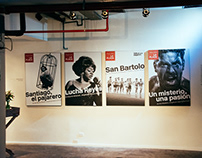Teatro La Plaza: 15 años (Identity + Posters)
