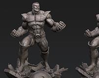 Colossus sculpt in Keyshot