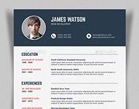 Simple Resume/CV - V3