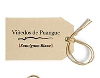Etiqueta vino Viñedos de Puangue