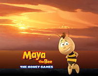 Maya the Bee 2 - Matte Paintings