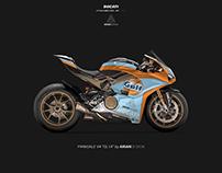 "Ducati Panigale V4 livery ""GL1A"""
