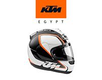 KTM Egypt - Super sport landing page