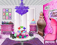 Retail Concept for Disney and LUSH