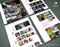 Pixella - web design portfolio