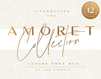 The Amoret Collection + 12 Free Logo Templates