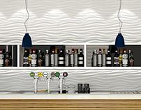 3D Render: Bar @ Cliente -Lecce