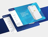 OzonBox - Website for Ozonising Chamber