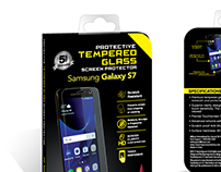 Tempered Glass Screen Protector - Packaging