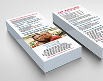 Florida Cancer Specialists Foundation Rack Card