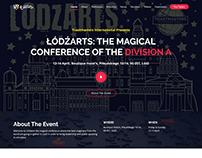 Łódźarts website