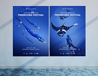 Freedive festival Artworks